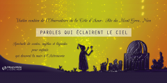 Visites contées à l'Observatoire de la Côte d'Azur